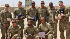 U.S. Army figures can show team pride thanks to the generosity by Baltimore Ravens' coach John Harbaugh. (Image via Twitter)