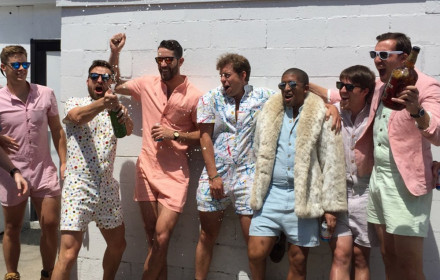 The RompHim launched a successful Kickstarter campaign to make men's rompers mainstream.
