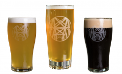 Breweries like Mile Wide Beer Co. have taken steps to deter glassware theft. (Image via Mile Wide Beer Co.)
