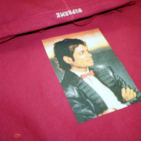 Leaks show that Supreme is planning to release a Michael Jackson-themed line. (Image via Twitter)