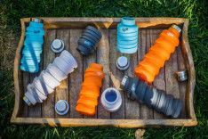 The collapsible que Bottle raised $500,000 on Kickstarter. (Image via Digital Trends)