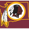 Washington Redskins NFL Shop License Plate
