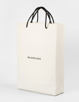 This is the $1,100 Balencia bag. (Image via Konbini)
