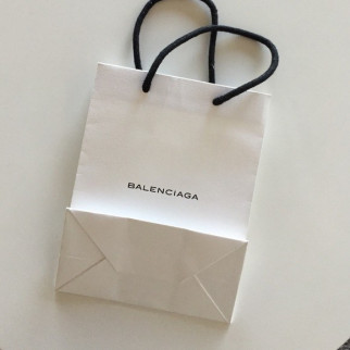 And this is the regular paper Balencia bag, which does not cost $1,100. (Image via Konbini)