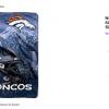 Denver Broncos decorating error blanket