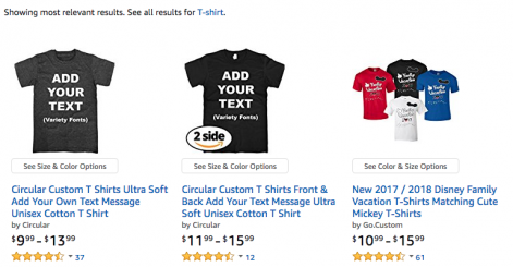 Amazon promotional apparel