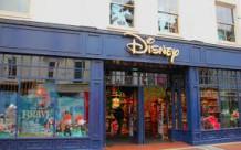 Disney Store plastic bags reusable branded bags