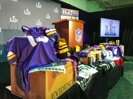 Super Bowl Merchandise