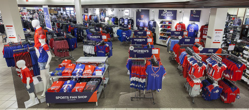 JCPenney Fanatics licensed sports apparel promotional merchandise