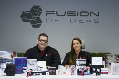 Fusion of Ideas brand experience promotional products