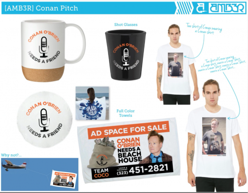 promotional product pitches purchase conversions