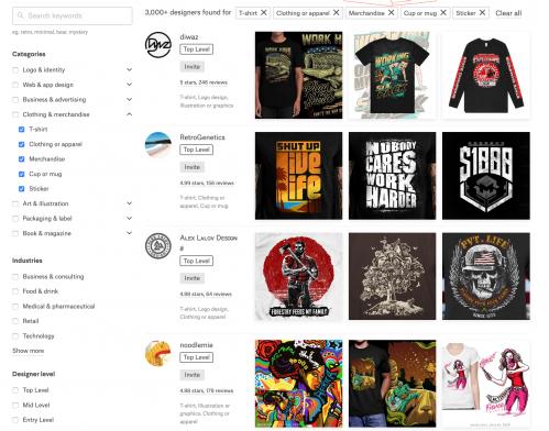 Vistaprint 99designs custom merchandise promotional products