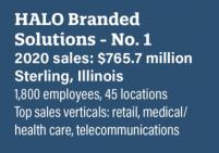 halo branded solutions 2021 top distributors list