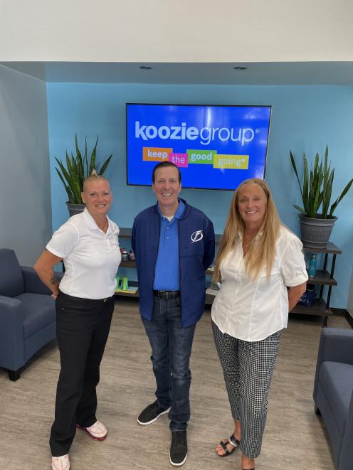 Koozie Group donation