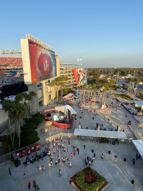 Raymond James Stadium, Super Bowl 2021