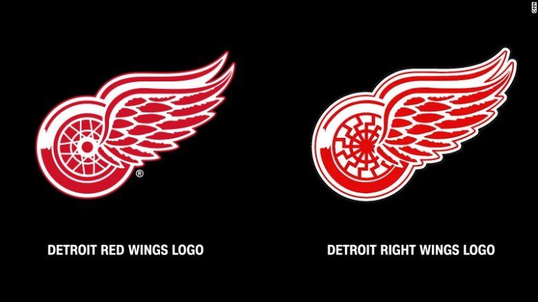 Red Wings condemn use of logo at Va. rally
