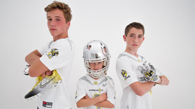 Ducks unveil special uniforms designed by Doernbecher patients
