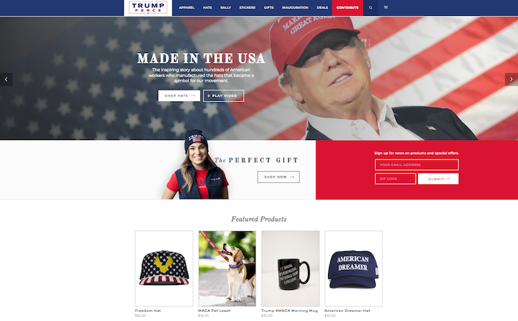 ce6997f1062 Licensed Trump Merchandise Has Almost Disappeared From Stores