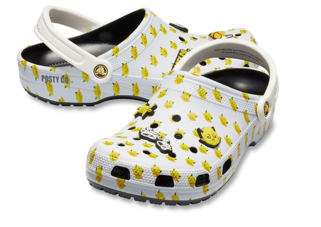 b53b15fb9995 Post Malone Crocs Sell Out Immediately After They re Announced
